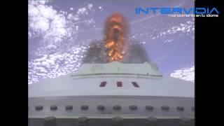 Lanzamiento de Antares con el carguero espacial Cygnus a bordo. (En ESPAÑOL)