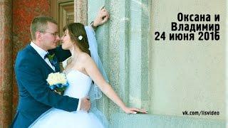 Оксана и Владимир. Wedding. Dmitry Lisovenko Video