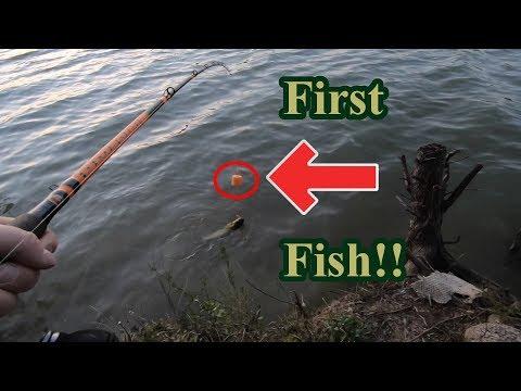 First Fish on Catfish Bobber!!!