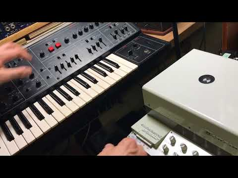 Yamaha CS-30 and Dynacord Echocord Studio (mono)