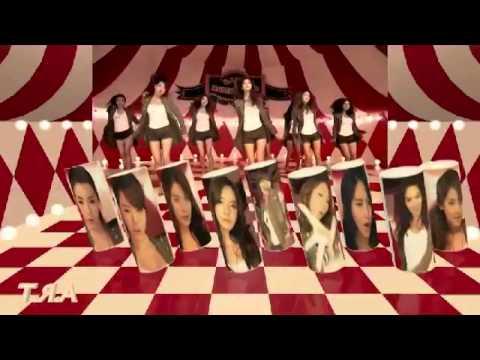 SNSD Genie Dance Formation Mirror