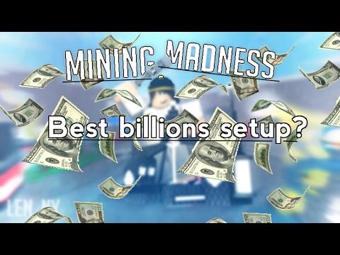 [Roblox] Mining Madness: best billions setup?
