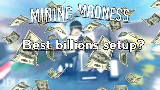 [Roblox] Mining Madness: Beste Milliarden-Setup?