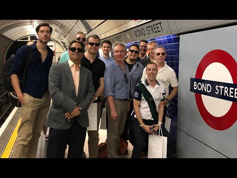 Taking A Tour Of London's Bond Brands!
