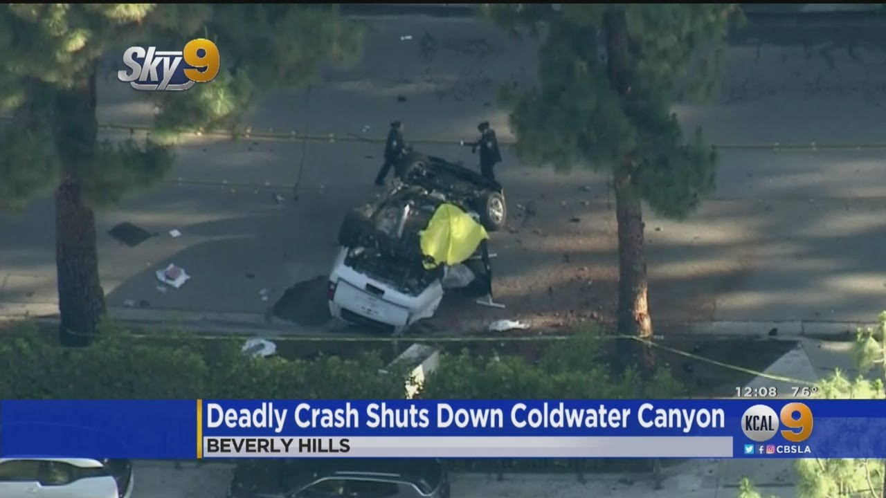 Fatal Crash Shuts Down Coldwater Canyon In Beverly Hills