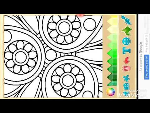 Florens Colorful Games New Coloring Boyama Sayfasi Gul Boyama