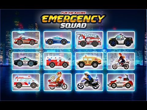 Emergency Car Racing Hero Part Ambulance Firefighter Videos