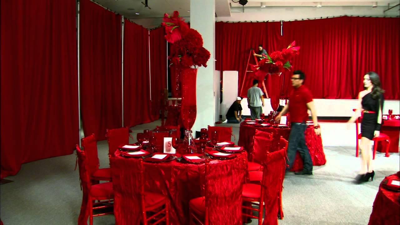 my fair wedding my fair wedding painting the wedding red youtube. Black Bedroom Furniture Sets. Home Design Ideas
