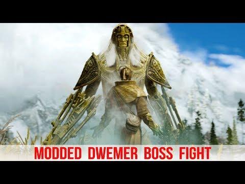 Skyrim Mods - Ancient Dwemer BOSS BATTLE!