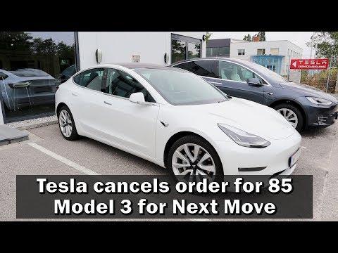 Tesla Servicehell - Tesla cancels order for 85 Model 3 for German EV Car Rental