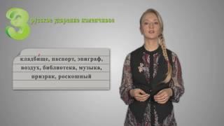 Русский 6 кл Орфоэпия  Повторение изученного в 5 классе