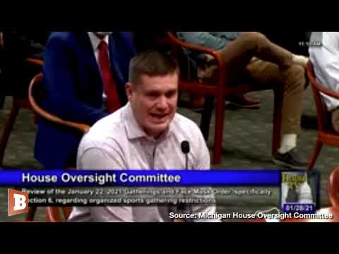 Varsity Coach Testifies Against Gov. Whitmer's High School Athletics Ban: Sports Got Me Off Drugs