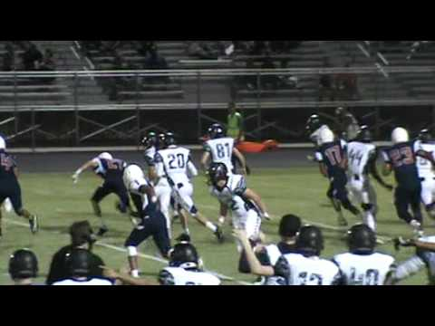 Solomon Enis 45 yard kickoff return