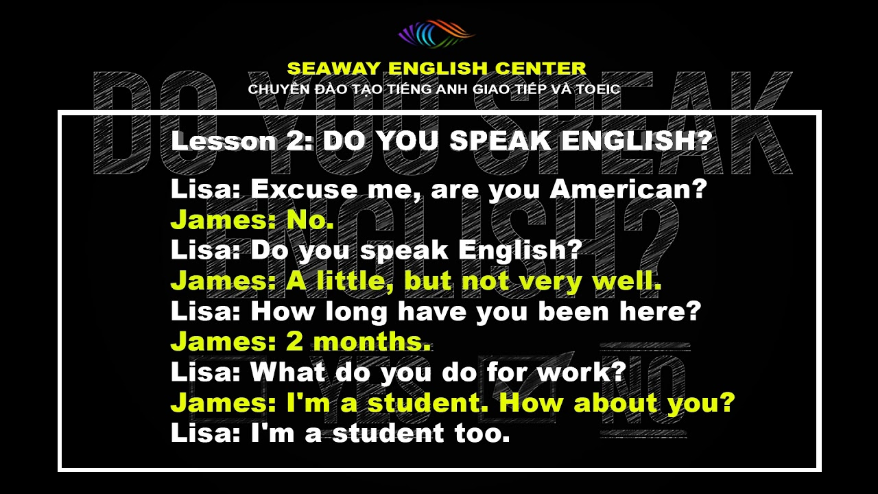 How can you speak english very well