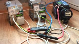 гибридный ИБП DUALDSP-12-5000 добавление энергии в сеть(, 2013-08-12T11:51:47.000Z)