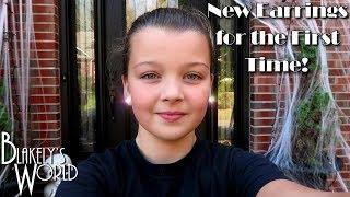First Earring Change after Piercing | Blakely Bjerken