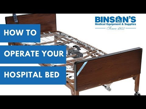 How To Operate Your Drive Hospital Bed
