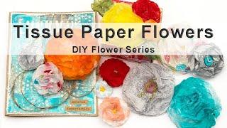 Paper Flowers diy | Making Paper Flowers Step by Step Tutorial (EASY!)