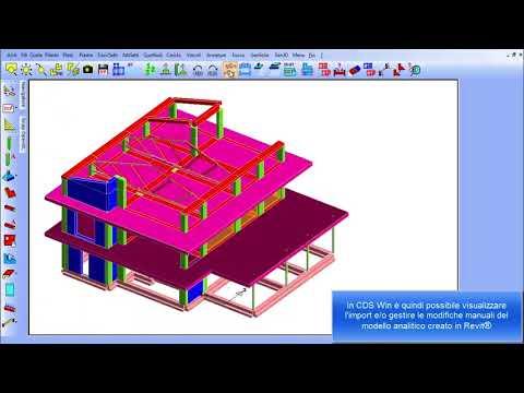 CDS Win - Import da Revit® in CDSWin di un edificio per civile abitazione