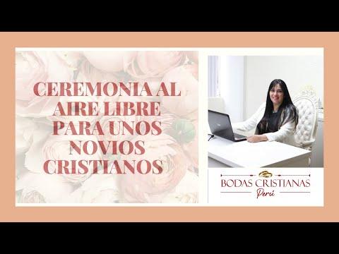 ceremonia religiosa al aire libre surco bodas cristianas peru youtube