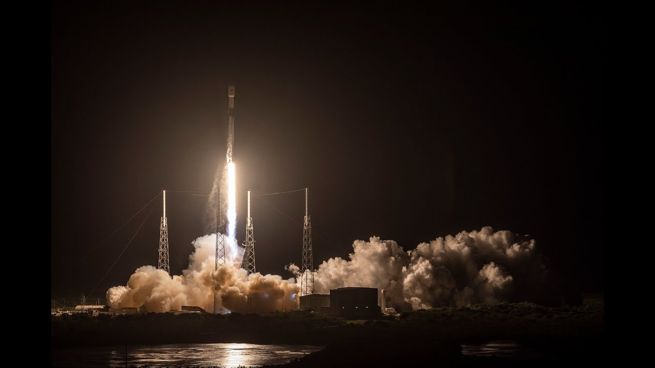 SpaceX successfully launches first 60 satellites in massive