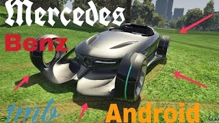GTA San Andreas game Mercedes-Benz Silver car  1mb may DOWNLOAD