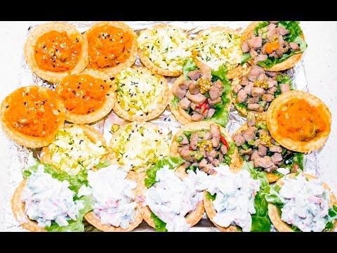 Быстрые закуски в тарталетках на праздничный стол - Easy Healthy Snack Ideas