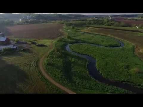 Wolf Run Trail drone flight