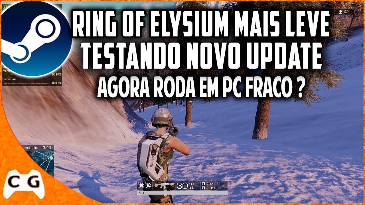 Saiu Nova Atualização Para Ring of Elysium Ta Mais Leve Veja Gameplay e Dicas Para PC Fraco