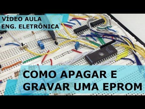 GRAVADOR MANUAL DE EPROM | Vídeo Aula #162