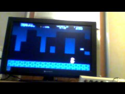 Video Game Glitch 72B: Super Mario Bros (NES) Wrong Pipe 2/World 5 pipe Glitch