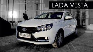 ЛАДА ВЕСТА // Часть 1: сравнение с конкурентами: Hyundai Solaris и VW Polo Sedan(Многосерийный проект о новинке LADA Vesta. Сравниваем с конкурентами , поднимаем на подъёмник и показываем техн..., 2015-12-28T13:00:17.000Z)