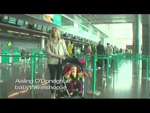 Checking In for flight with baby T2 Dublin Airport, Ireland - Unravel Travel TV