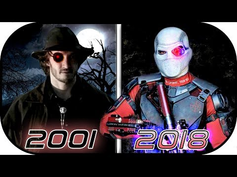 EVOLUTION of DEADSHOT in Movies Cartoons TV 1997-2018 Floyd Lawton Deadshot suicide squad 2