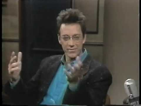 Ray Manzarek on Late Night, January 25, 1984