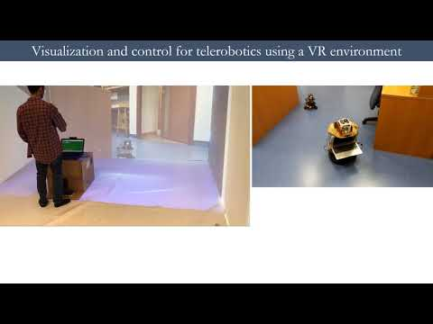 Preator-Prey using DVS with VR visualization and control | Telerobotics