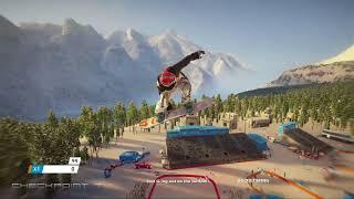 Steep Road To The Olympics - Korea - Big Air Gameplay