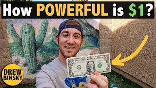 How POWERFUL is $1?  (Spending $1 in 10 Countries)
