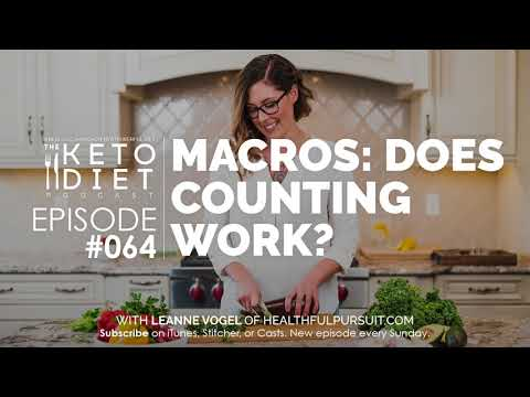 #064 The Keto Diet Podcast: Macros: Does Counting Work?