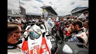 The start - 2018 Le Mans 24 Hours - Michelin Motorsport