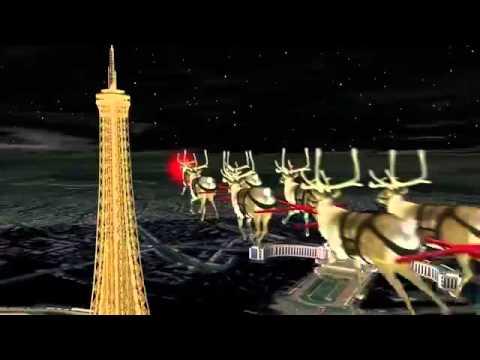 NORAD Tracks Santa 2015 - Paris, France (French/Français)