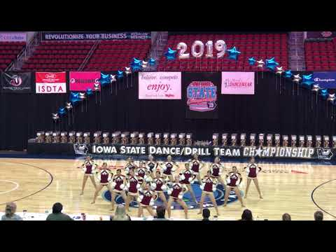 Ankeny High School Dance Team [STATE POM 19]