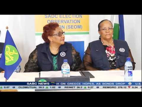 SADC Election Observer Mission commenced work in Lesotho