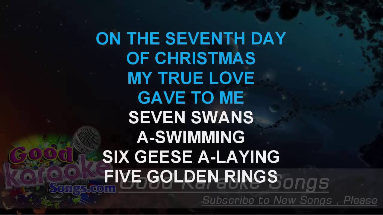Twelve Days of Christmas - Straight No Chaser (Lyrics karaoke ...