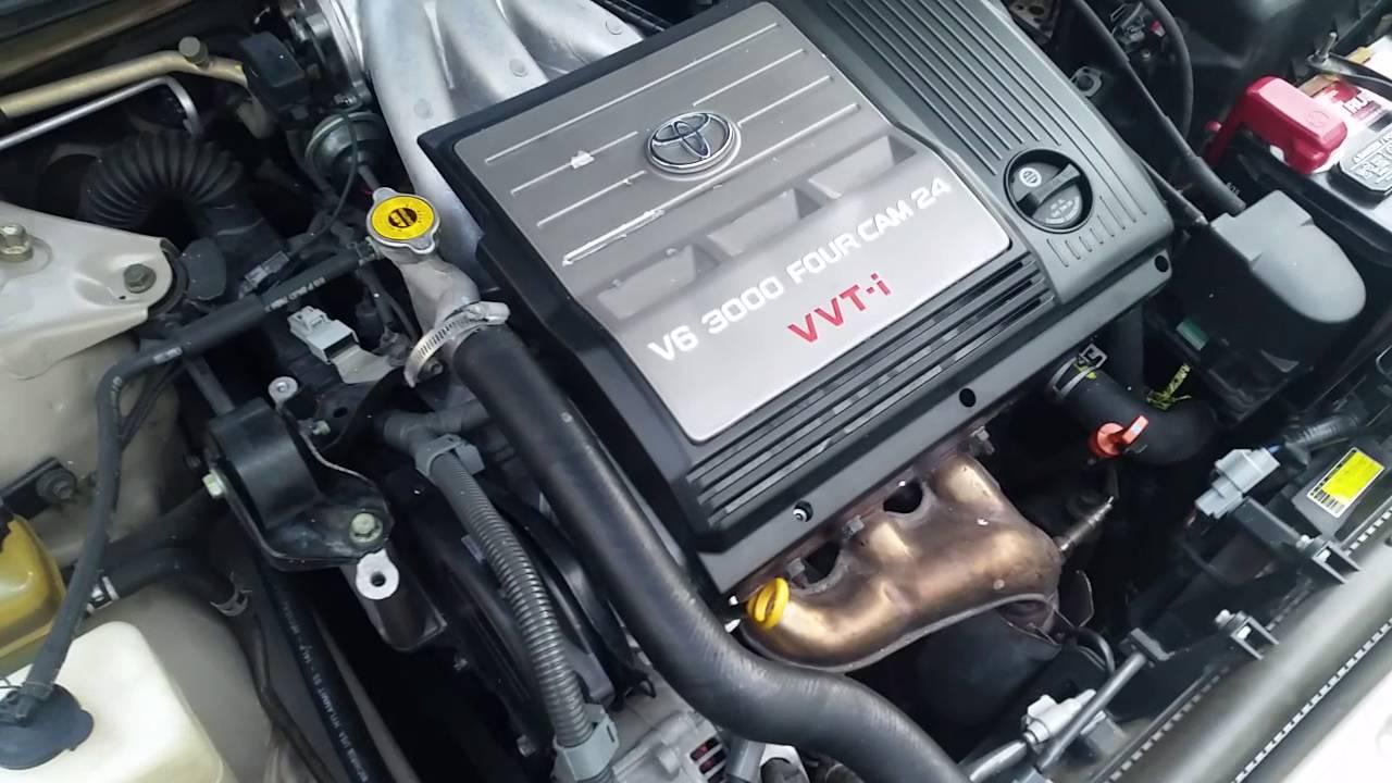 Timing Belt Sound Hot Engine Toyota Avalon 2002 1mz Fe Youtube 2000 Saab 9 3