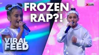Download RAPPING TO DISNEY'S FROZEN ?? | VIRAL FEED