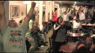 Giants Fans React To The San Francisco Giants Winning The World Series 2014