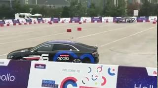 Driverless Cars Running on Baidu's Apollo Self-driving Platform