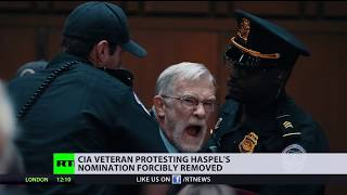 'Haspel supervised waterboarding!' CIA veteran detained for asking about US torture program
