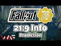 Using 21:9 In Fallout 76 Risks Being BANNED - Ultrawide Prediction